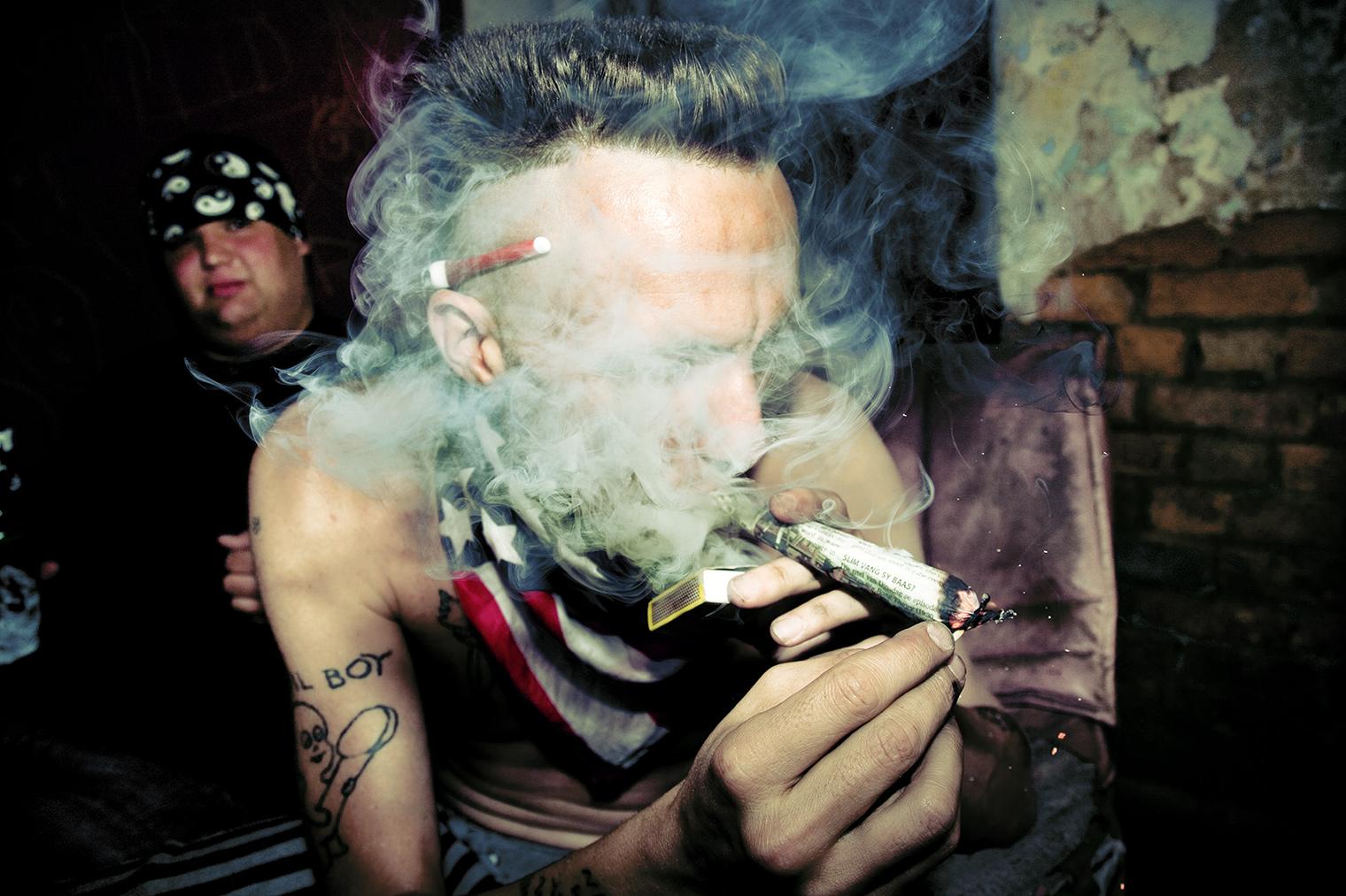 Die Antwoord ninja smoke evil boy